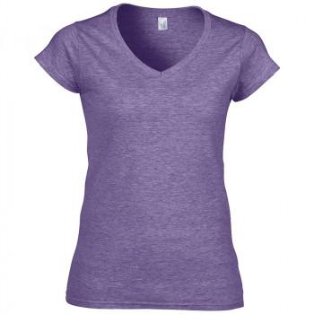 Soft V-Hals T-shirt